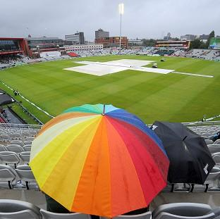 Rain ruled at Emirates Old Trafford