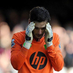 Hugo Lloris was knocked unconscious in Tottenham's game against Everton last November