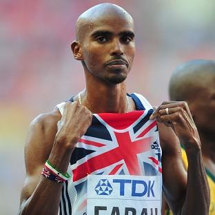 Mo Farah is aimi