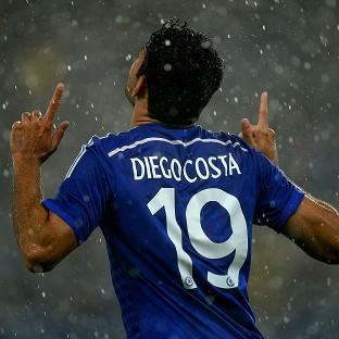 Diego Costa was Chelsea's two-goal hero against Real Sociedad
