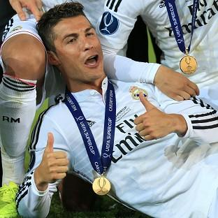 Cristiano Ronaldo added the Super Cup to his collection of honours