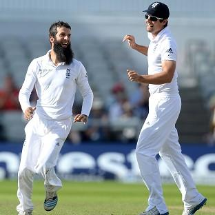 Moeen Ali, left, has flourished under the captaincy of A