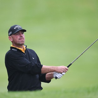 Thomas Bjorn was out to impress his home fans