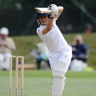 Sarah Taylor led the England fightback on day two against India