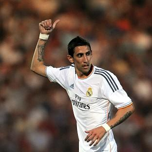 Manchester United-linked Angel di Maria has said his goodbyes at Real Madrid