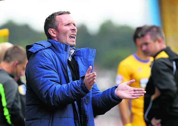 Michael Appleton is expecting a hectic day as Oxford United try to strengthen their squad