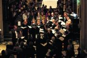 Carols by candlelight concert in Christchurch Cathedral from 2013, featuring The