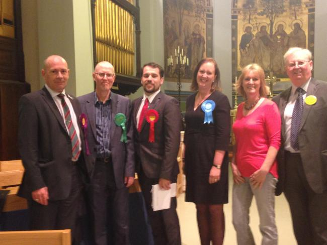 Election candidates all pledge their backing for the Horton