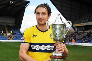 Danny Hylton honoured to receive Oxford United supporters' award