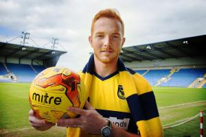 Ryan Taylor relishing fight for Oxford United starting role