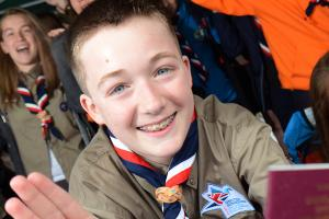 Top Scouts in Japan for world jamboree