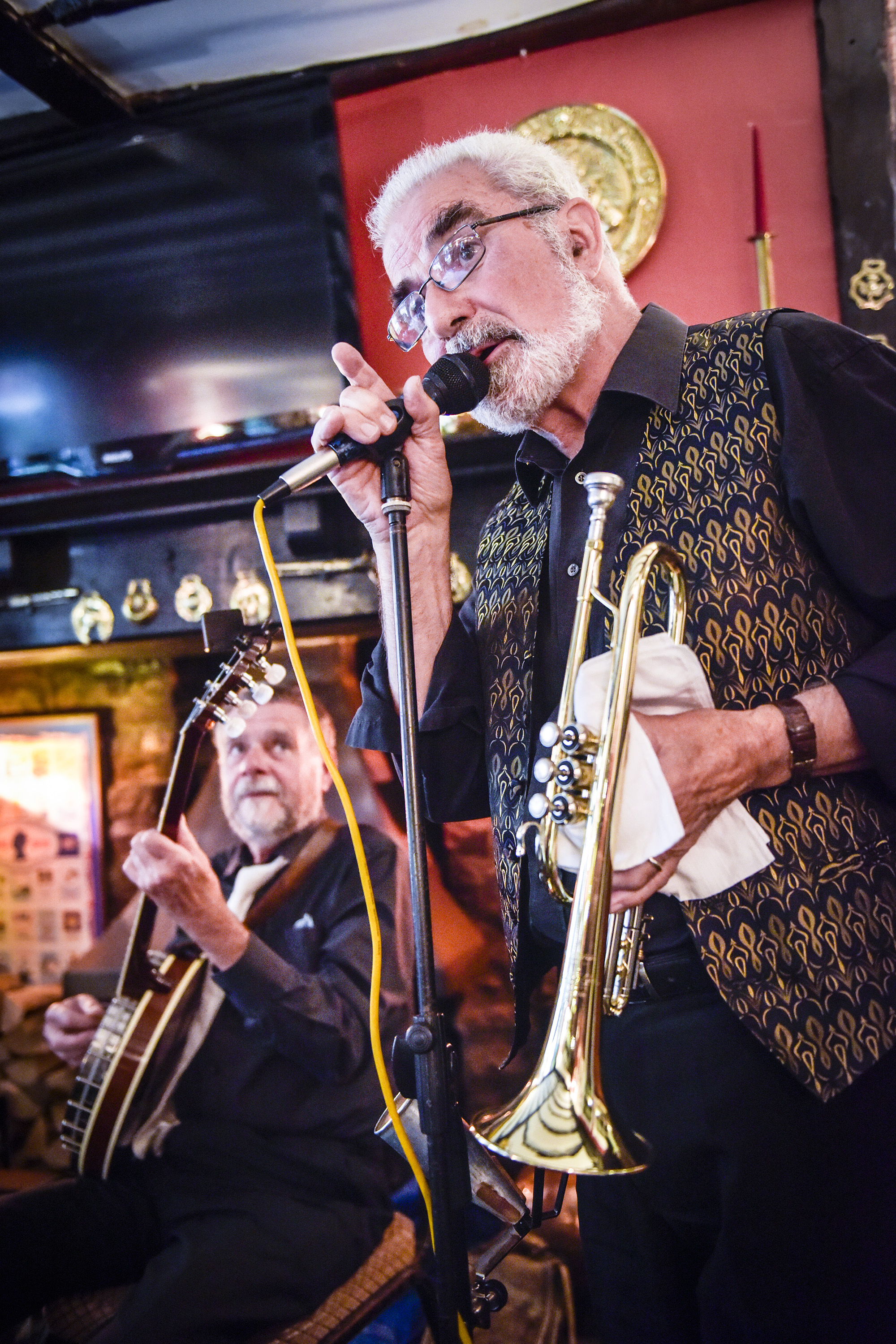 Nice: The Dixie Four perform at the Crown and Cushion for Chipping Norton Jazz Festival