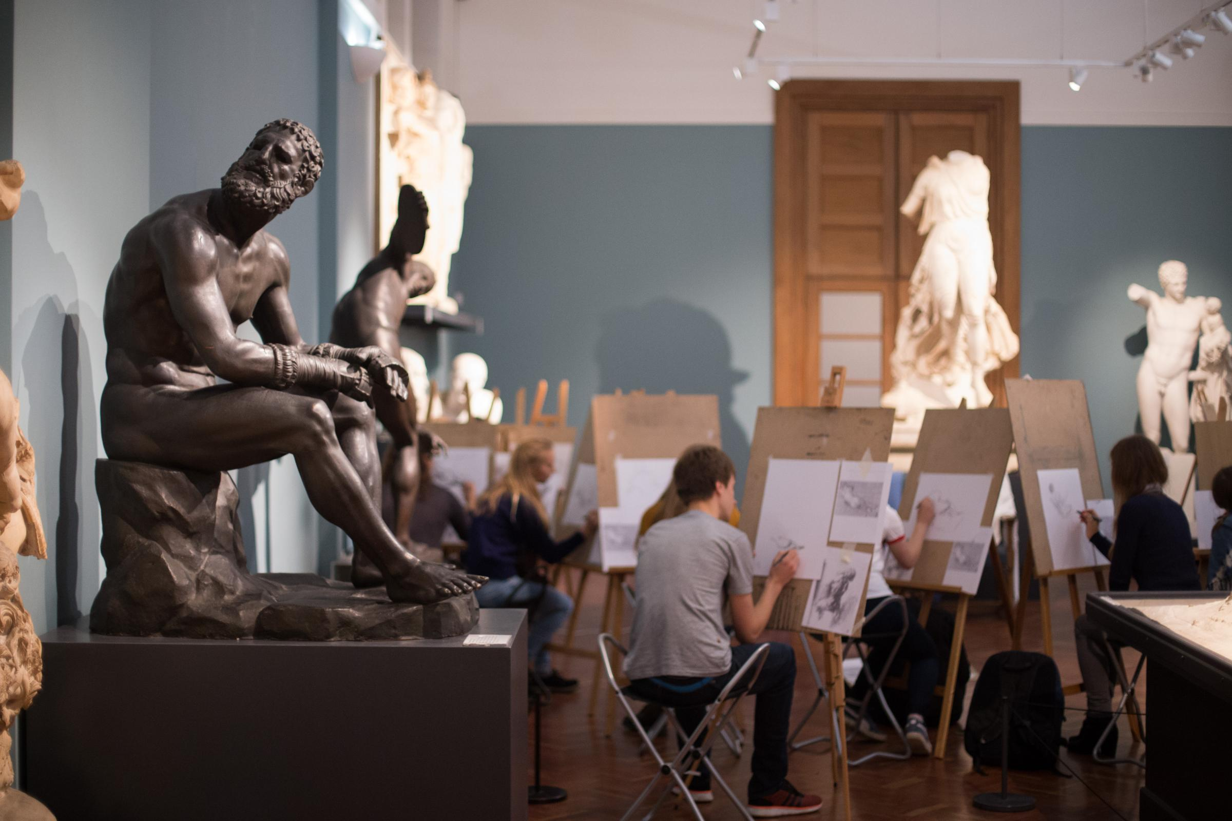 Ashmolean Art & Design Sixth Form Study Day