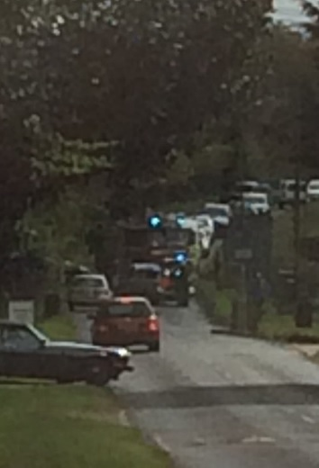 Police, fire and ambulance services reportedly at incident in Ladder Hill, Wheatley