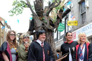 Banbury Cake: Magical creatures and wizardly attractions crowded into Banbury for the Old Town Summer Party