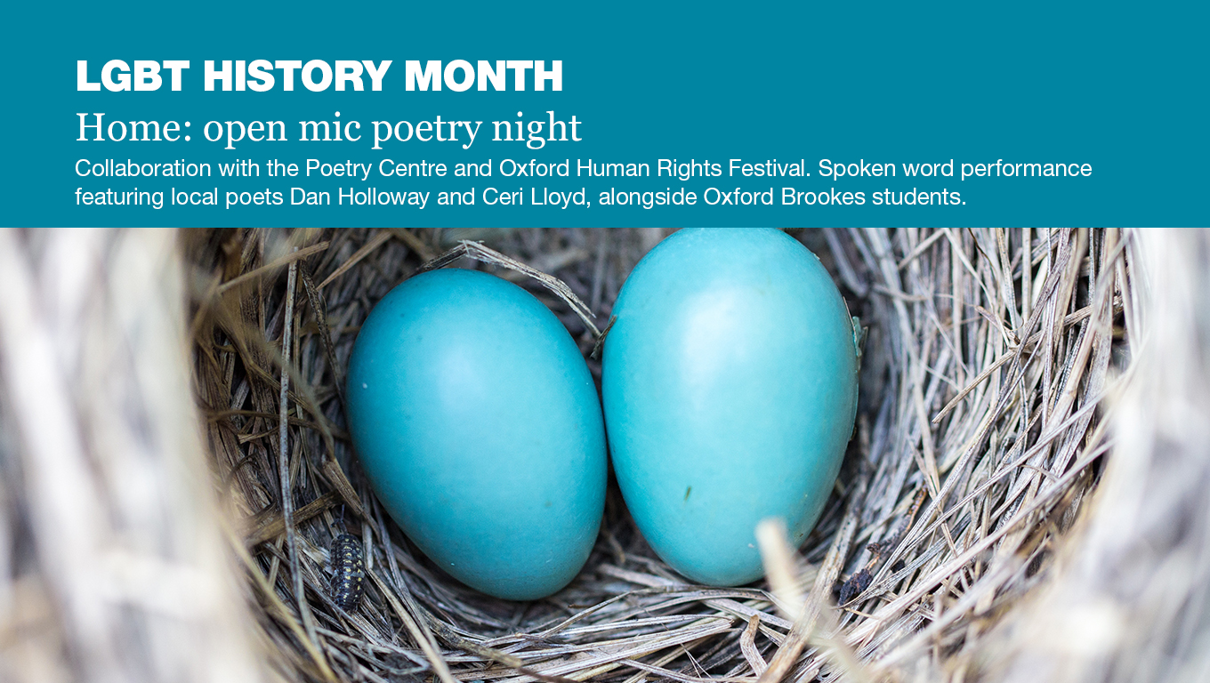 Home: open mic poetry night