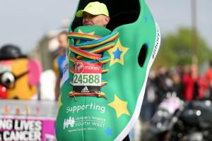 It's London Marathon time - good luck to all our runners