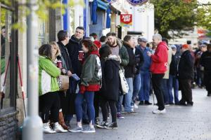 Vinyl revival continues as crowds flock for return of Record Store Day