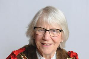 Oxford's new Lord Mayor, councillor Jean Fooks