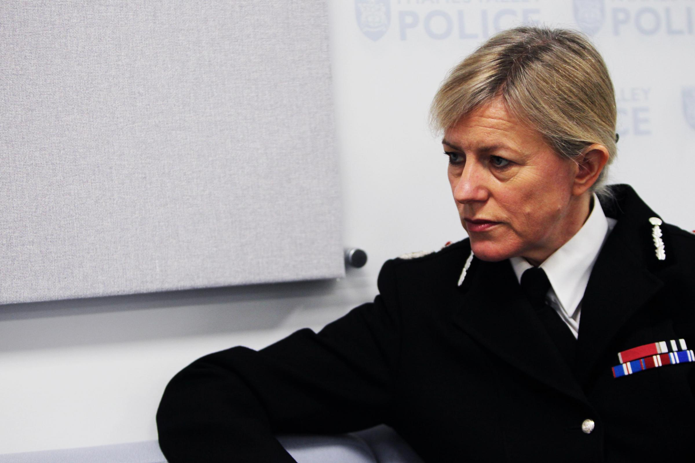 Former Thames Valley Police Chief Constable Sara Thornton