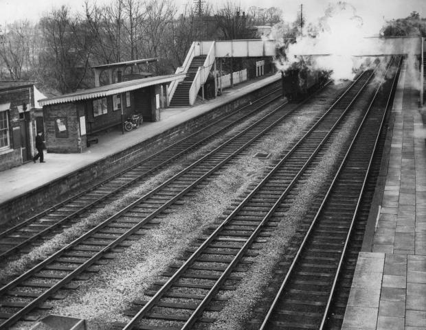 Banbury Cake: Wantage Road Station in March 1963