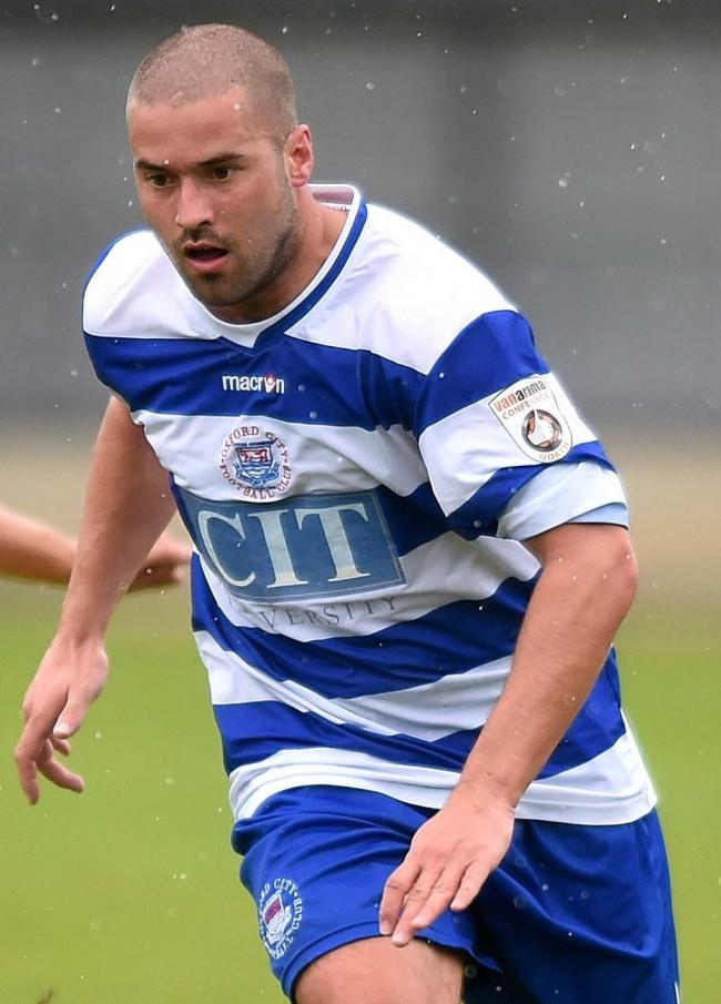 Former Oxford City defender Paul Stonehouse made his debut for Banbury