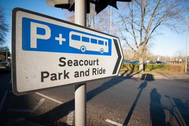 Seacourt Park and Ride is used by motorists on the west side of Oxford