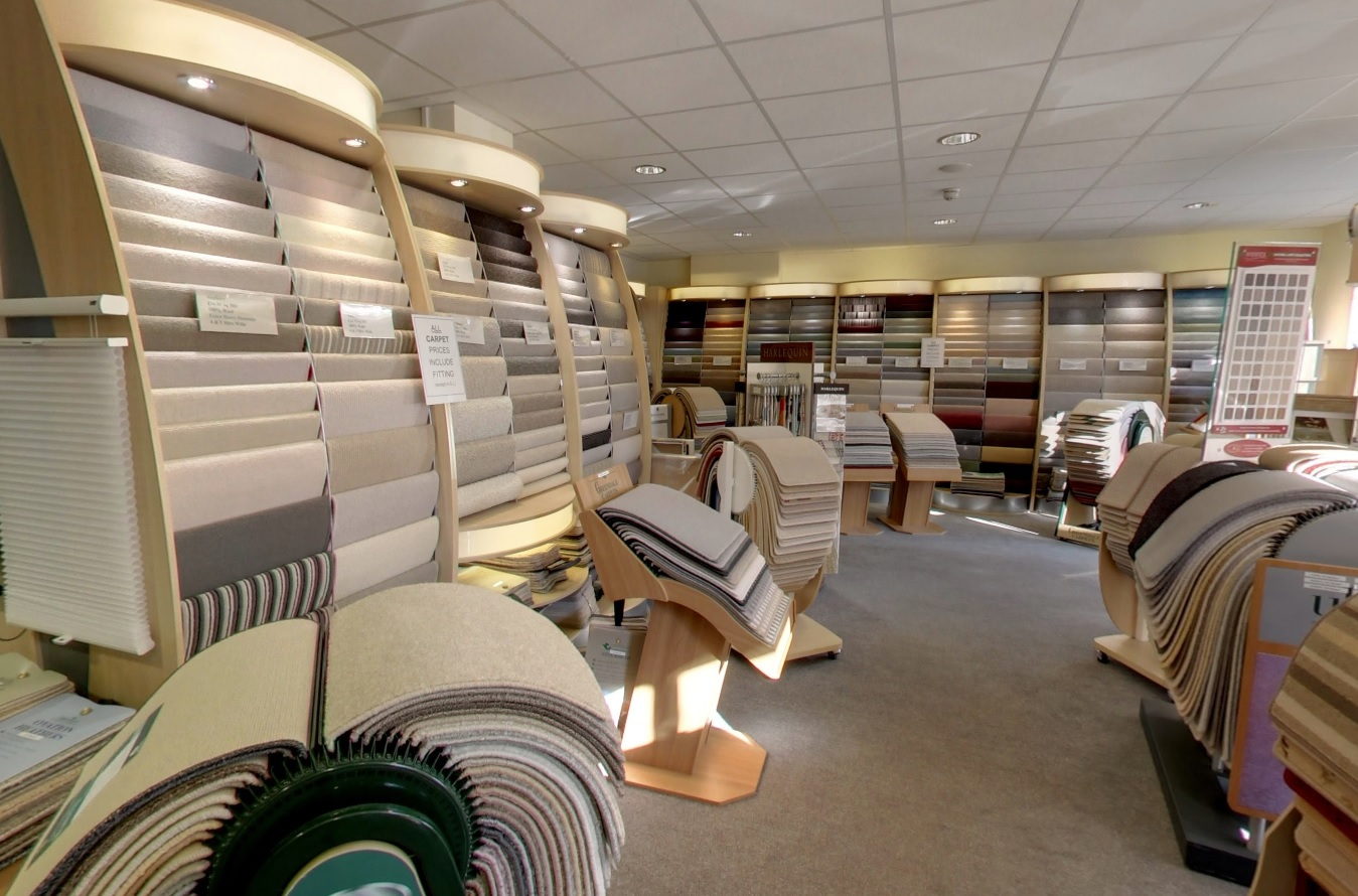 Denis Green carpets - pic. Google Street View
