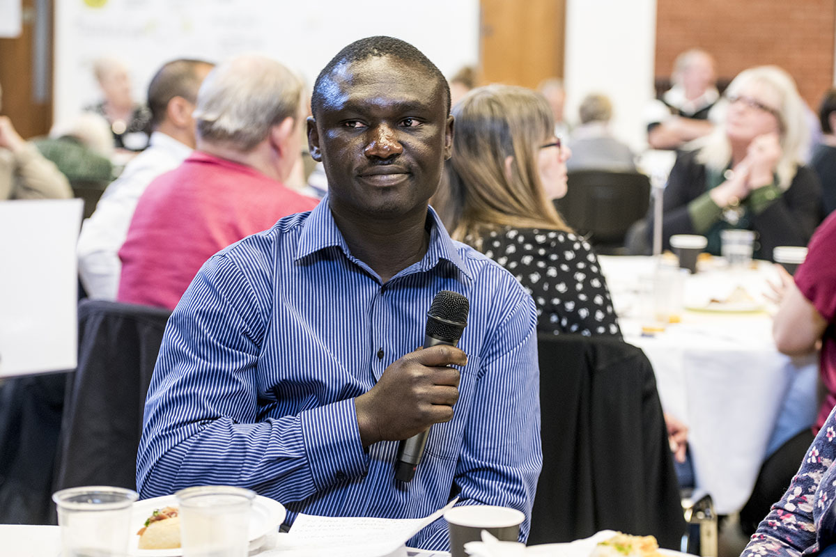 Peter Nkum. Picture supplied by Soha Housing