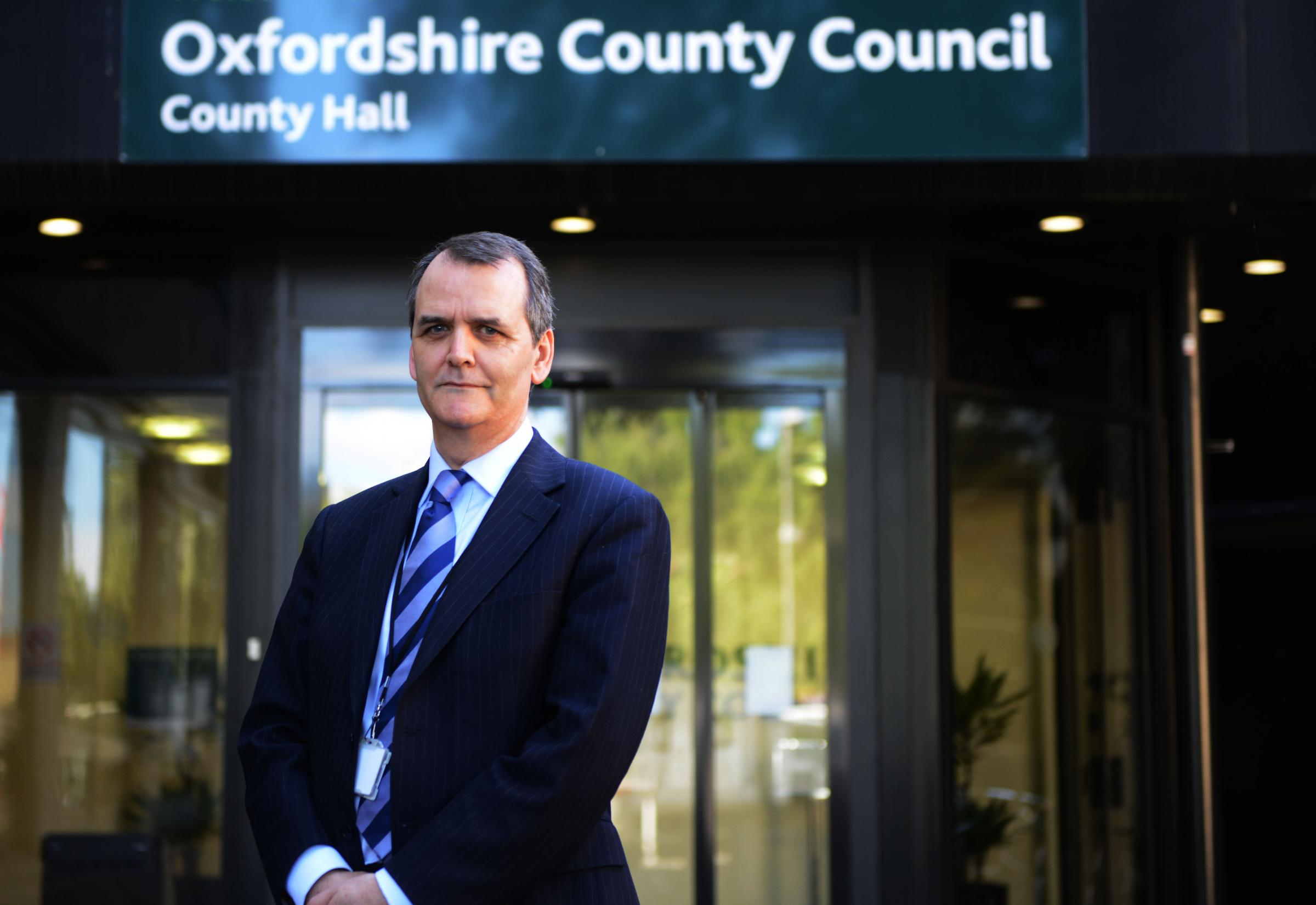 Oxfordshire County Council director of public health Jonathan McWilliam. Picture: Richard Cave