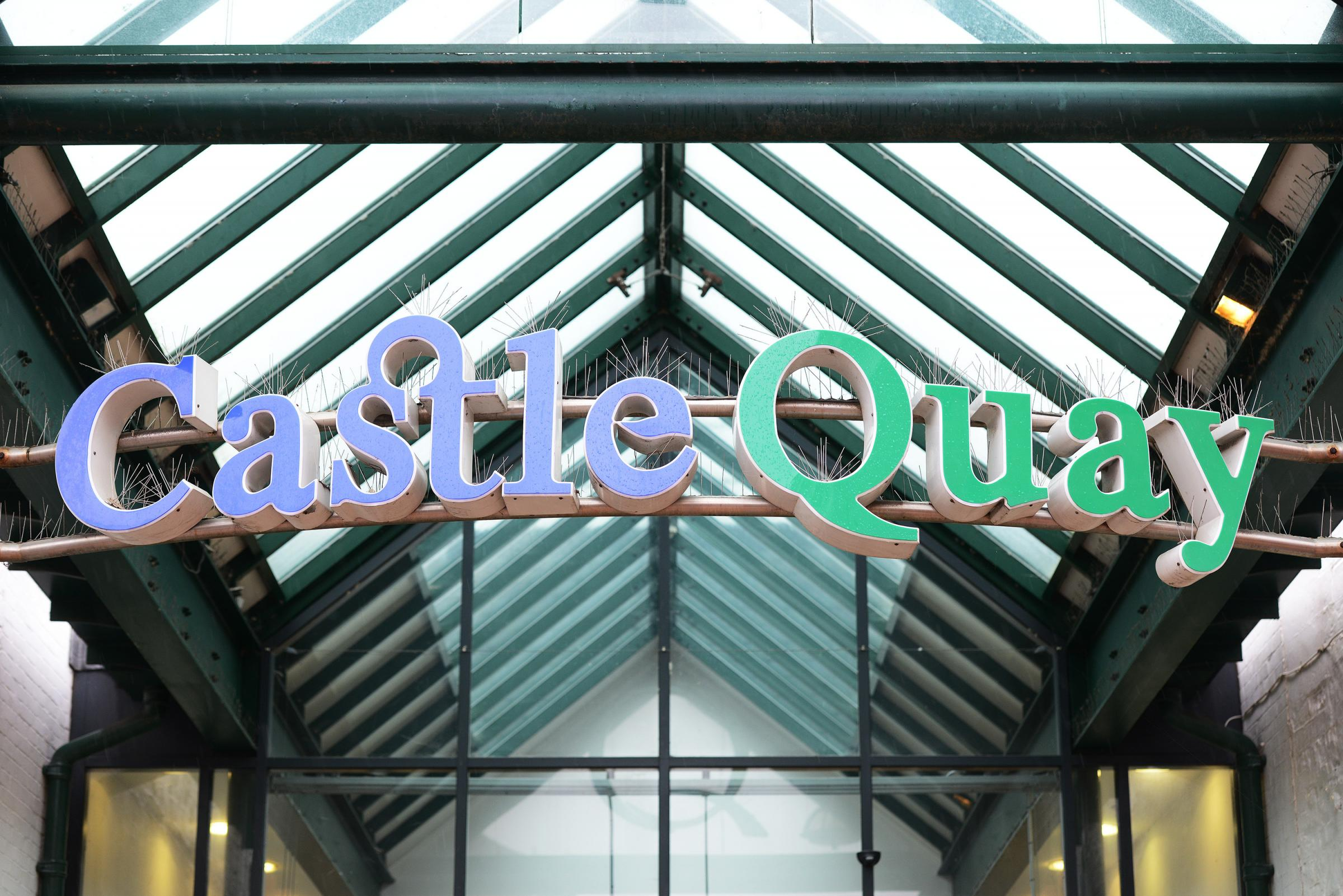 PICTURE: BY JON LEWIS.CATCHLINE: Banbury Castle Quay.LOCATION: Banbury.LENGTH: Lead .DATE: 01.03.16..BOOKED BY: KD.CONTACT: -.CAPTION: Castle Quay shopping centre GV.PIC BY JON LEWIS...COPYRIGHT NEWSQUEST (OXFORD) LTD 2016 ...