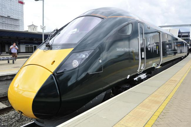 Great Western Railway will run a reduced service on Sunday Picture: GWR/PA
