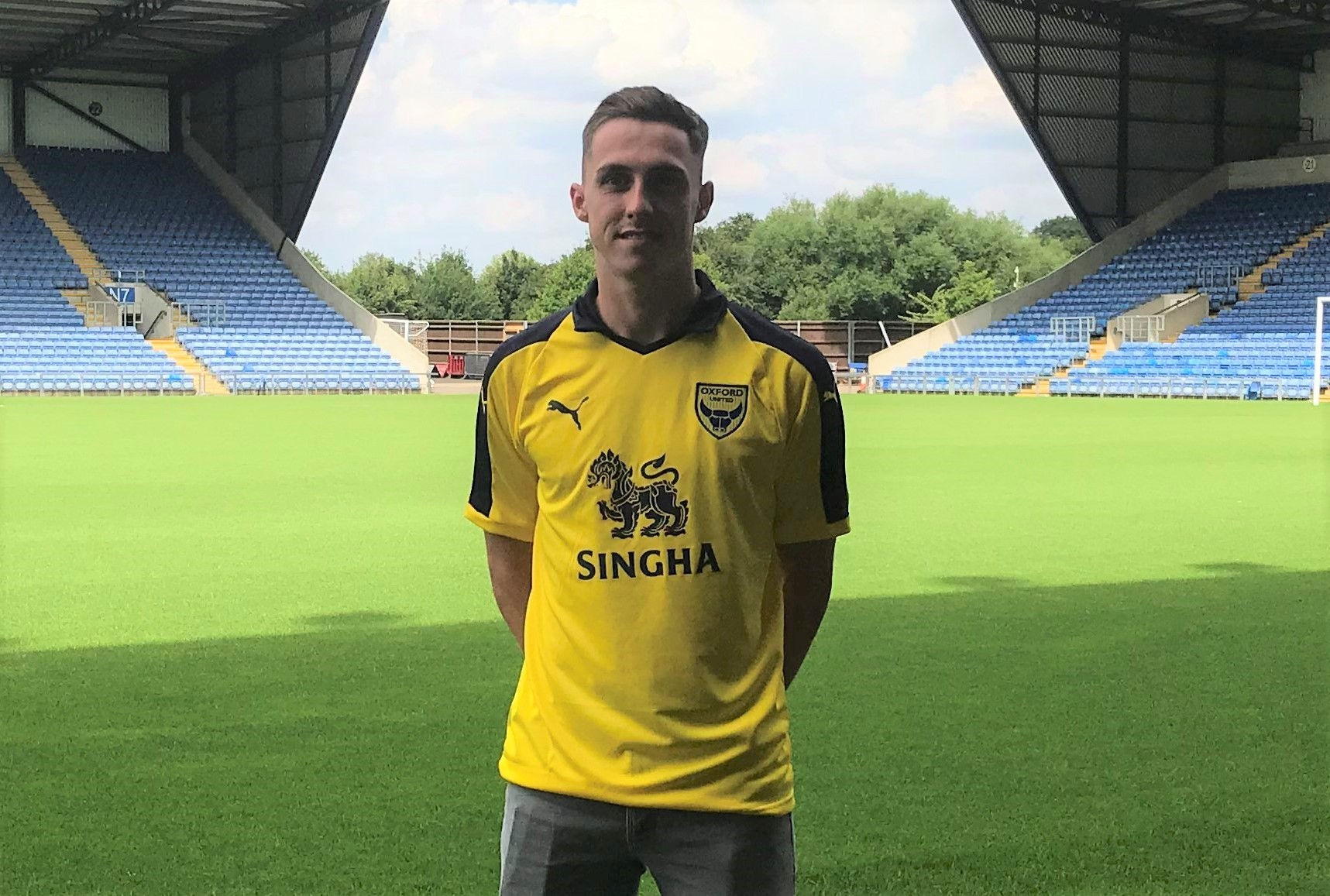 NEW FACE: Gavin Whyte could make his U's debut tonight 	Picture: Mark Edwards