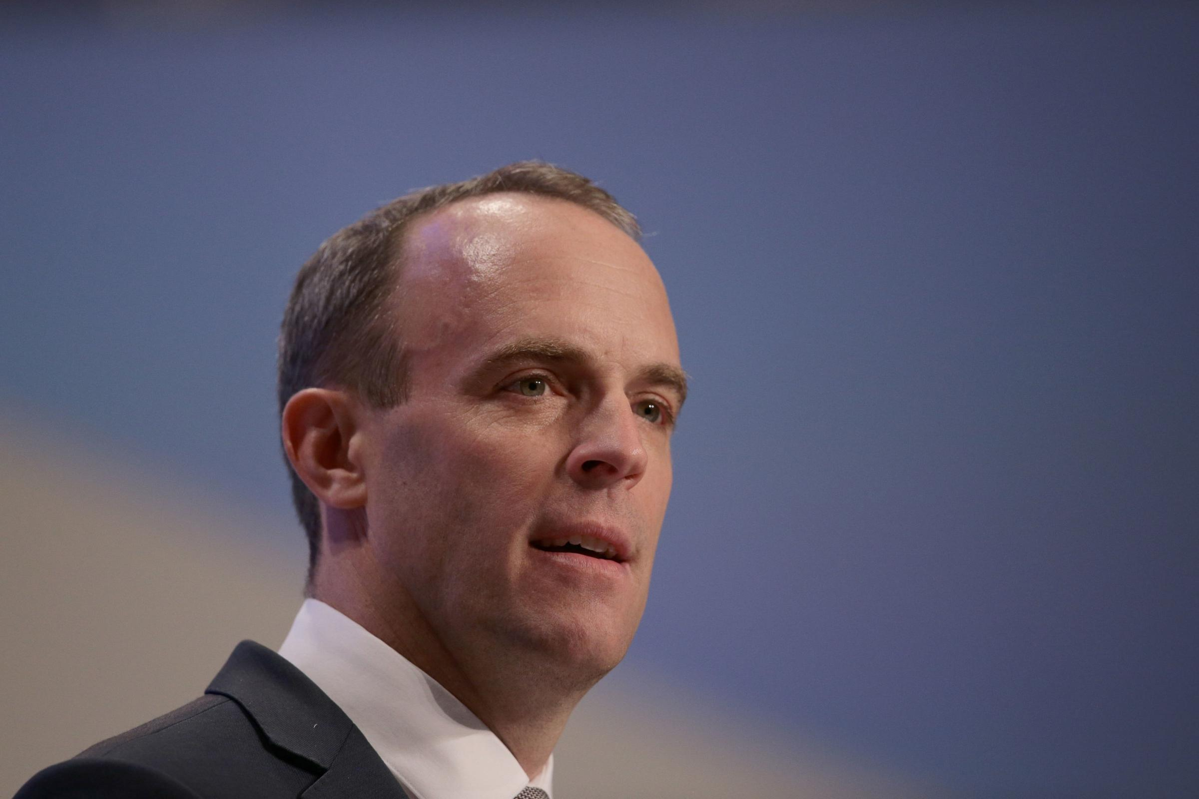 Brexit Secretary under fire after indicating he expects a deal in three weeks