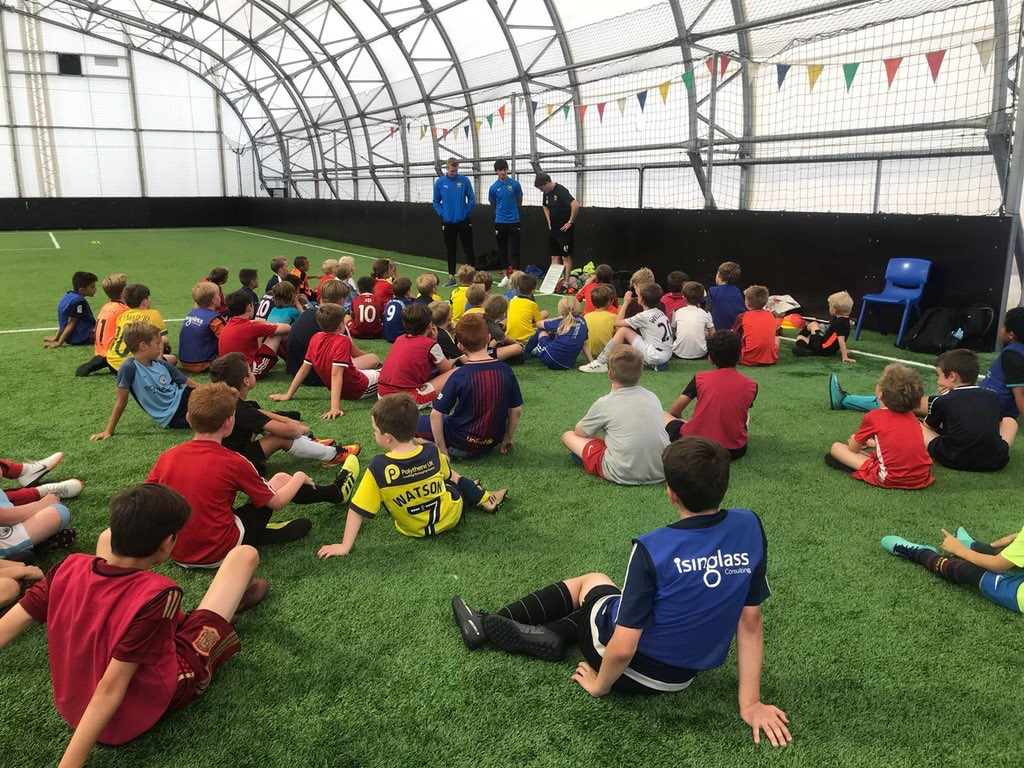 Boys playing football were most likely to be injured. Picture: Oxford United In The Community