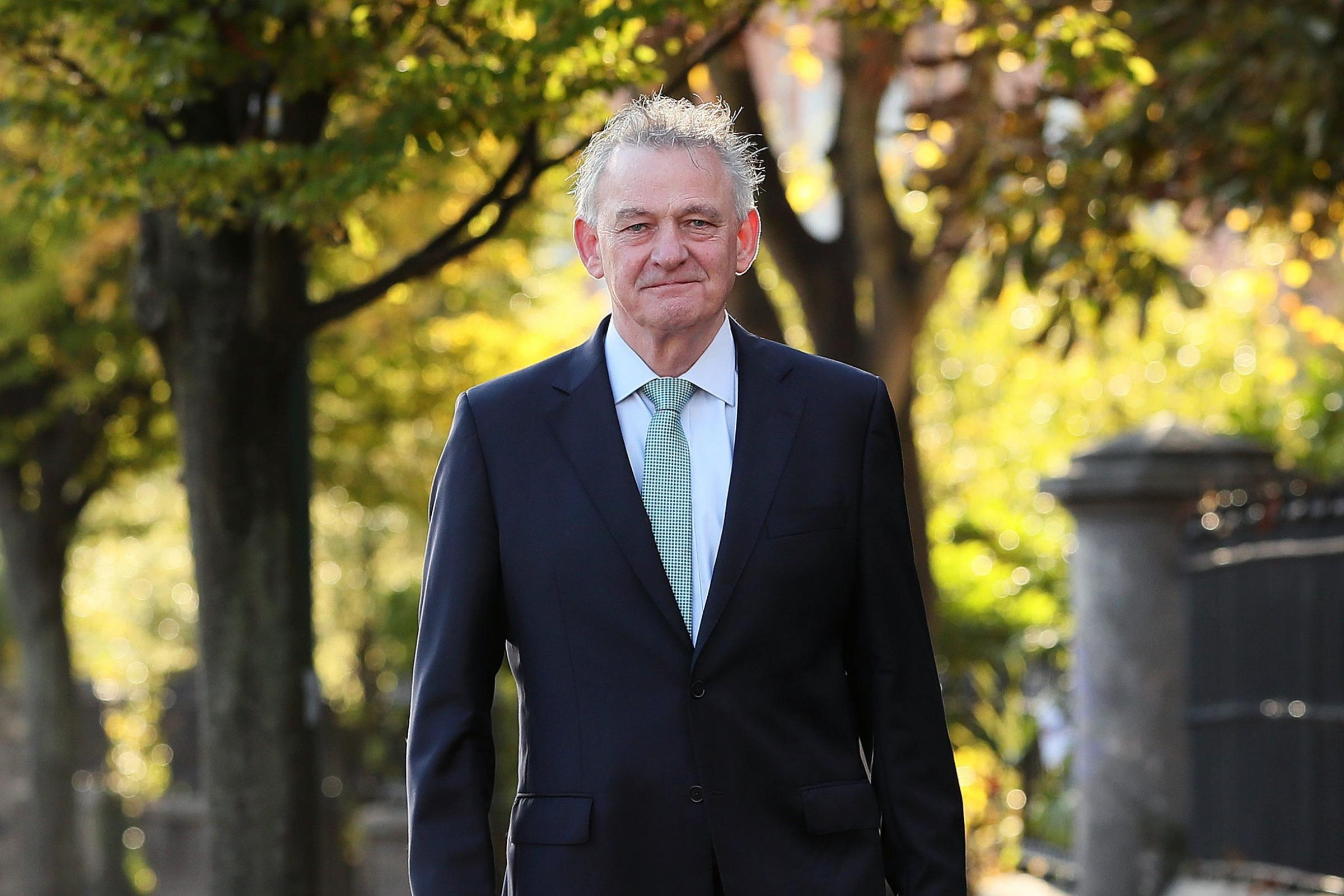 Peter Casey, who said he received 'thousands' of messages asking him not to pull out of the Irish presidential race