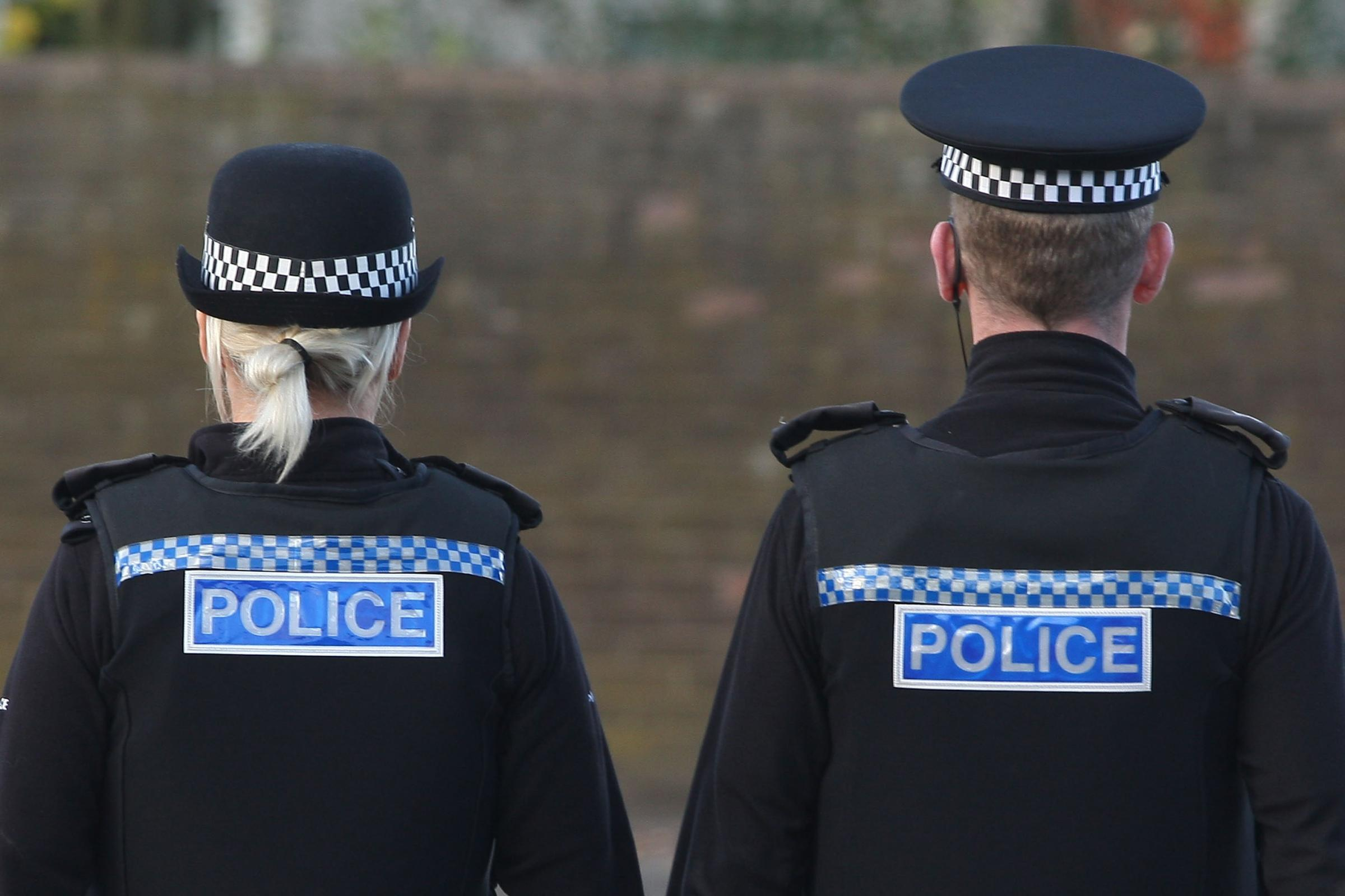 Part of police station closed after disturbance