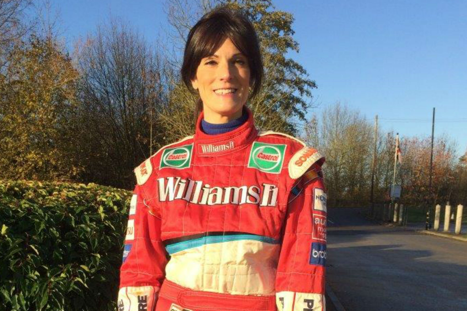 Formula One racing suit donated to charity shop up for auction