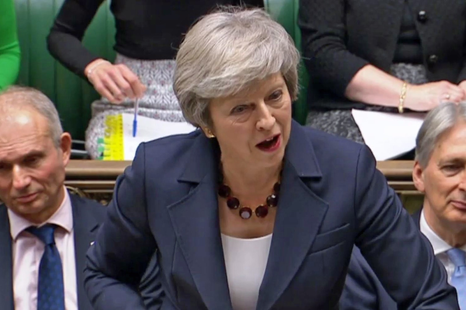 May says draft deal takes UK 'significantly closer' to Brexit