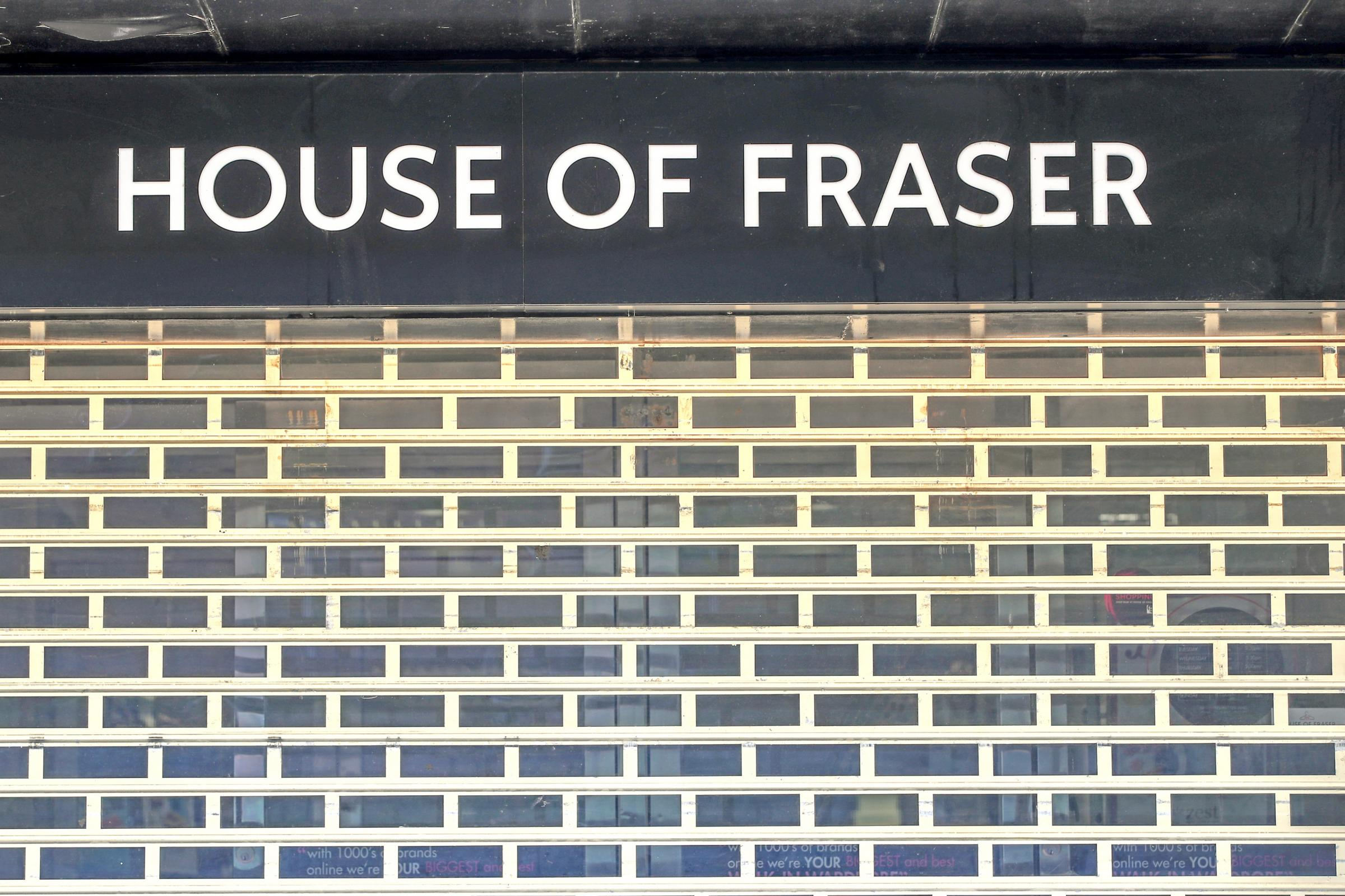 Sports Direct announces further House of Fraser closures