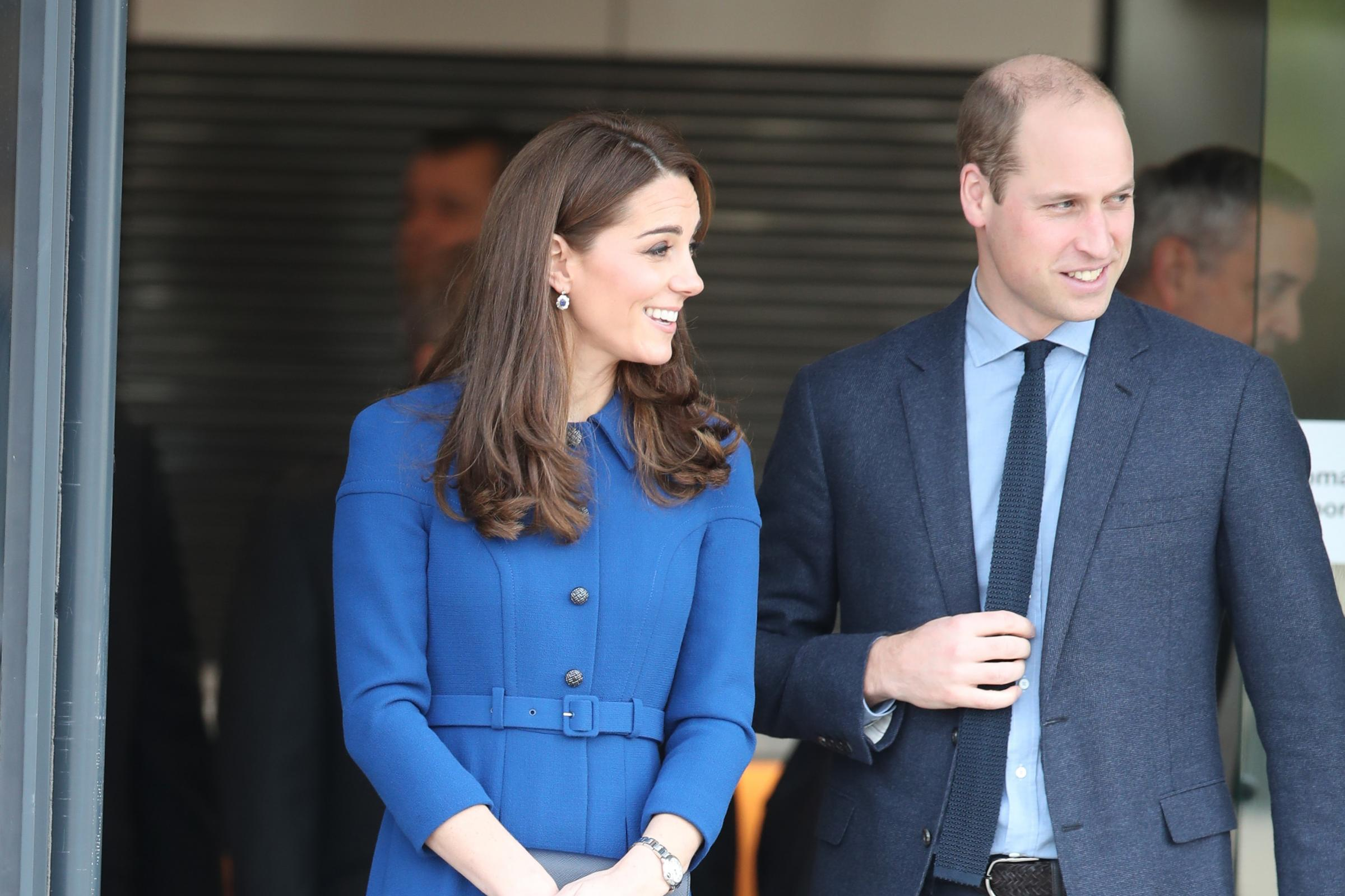 William and Kate serve lunch for people helped by homelessness charity