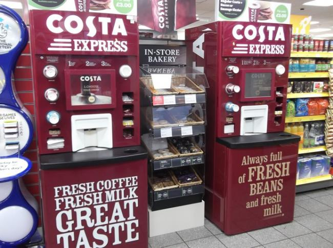 Costa machines giving away FREE coffee today (and there's no catch)