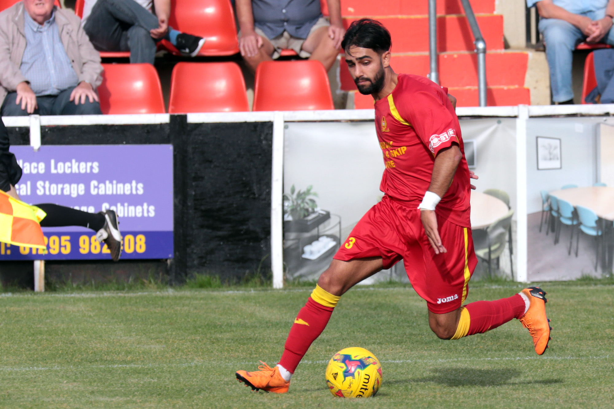 Banbury United's points deduction is in relation to the registration of loanee Ravi Shamsi Picture: Ric Mellis