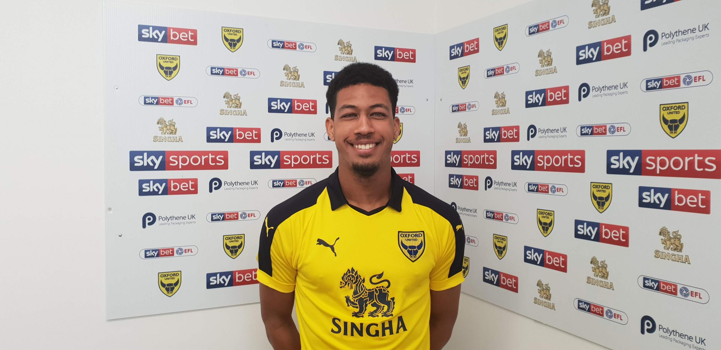 Jonte Smith has signed for Oxford United until the end of the season   Picture: Oxford United