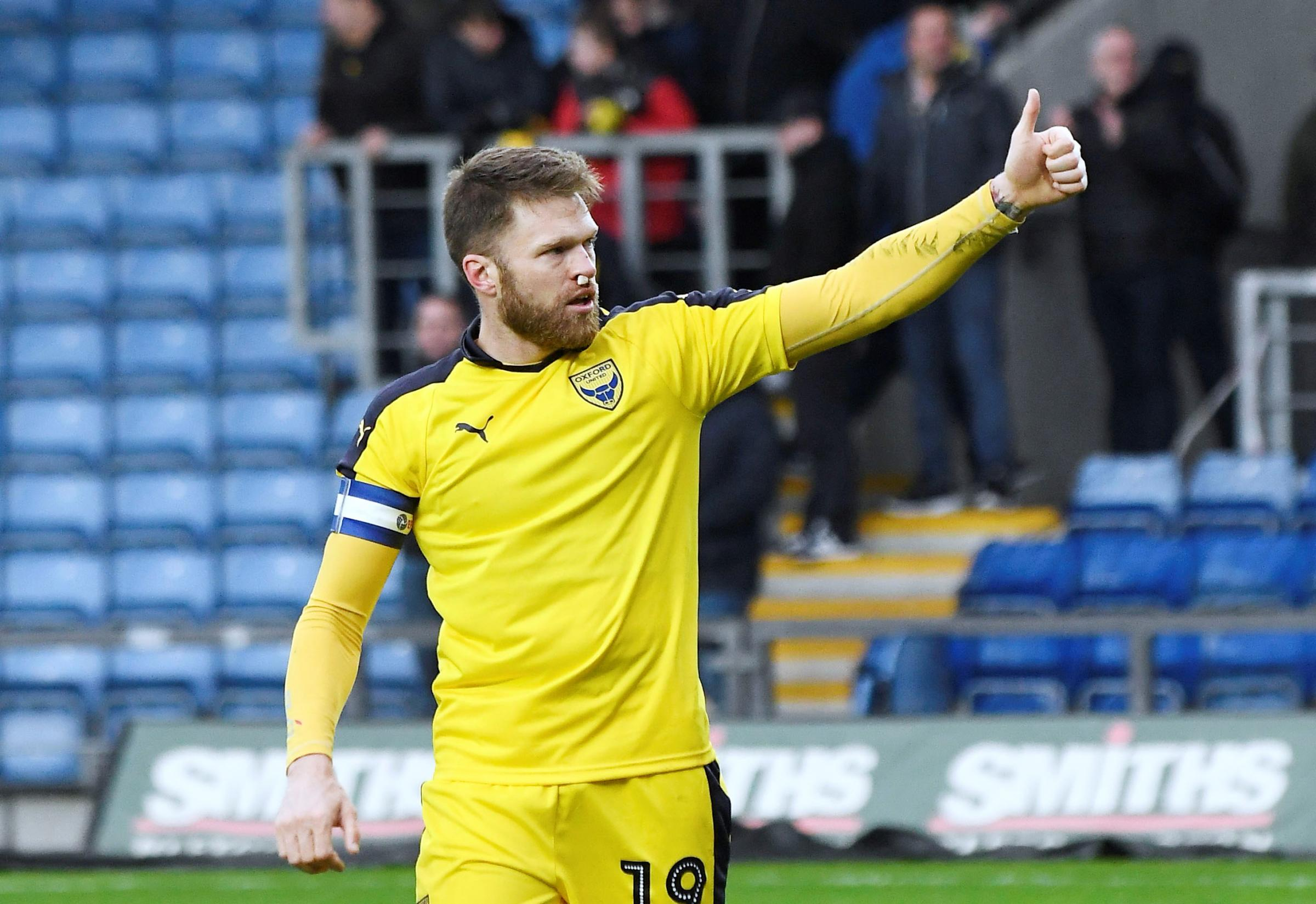 Jamie Mackie comes in for Jerome Sinclair up front for Oxford United