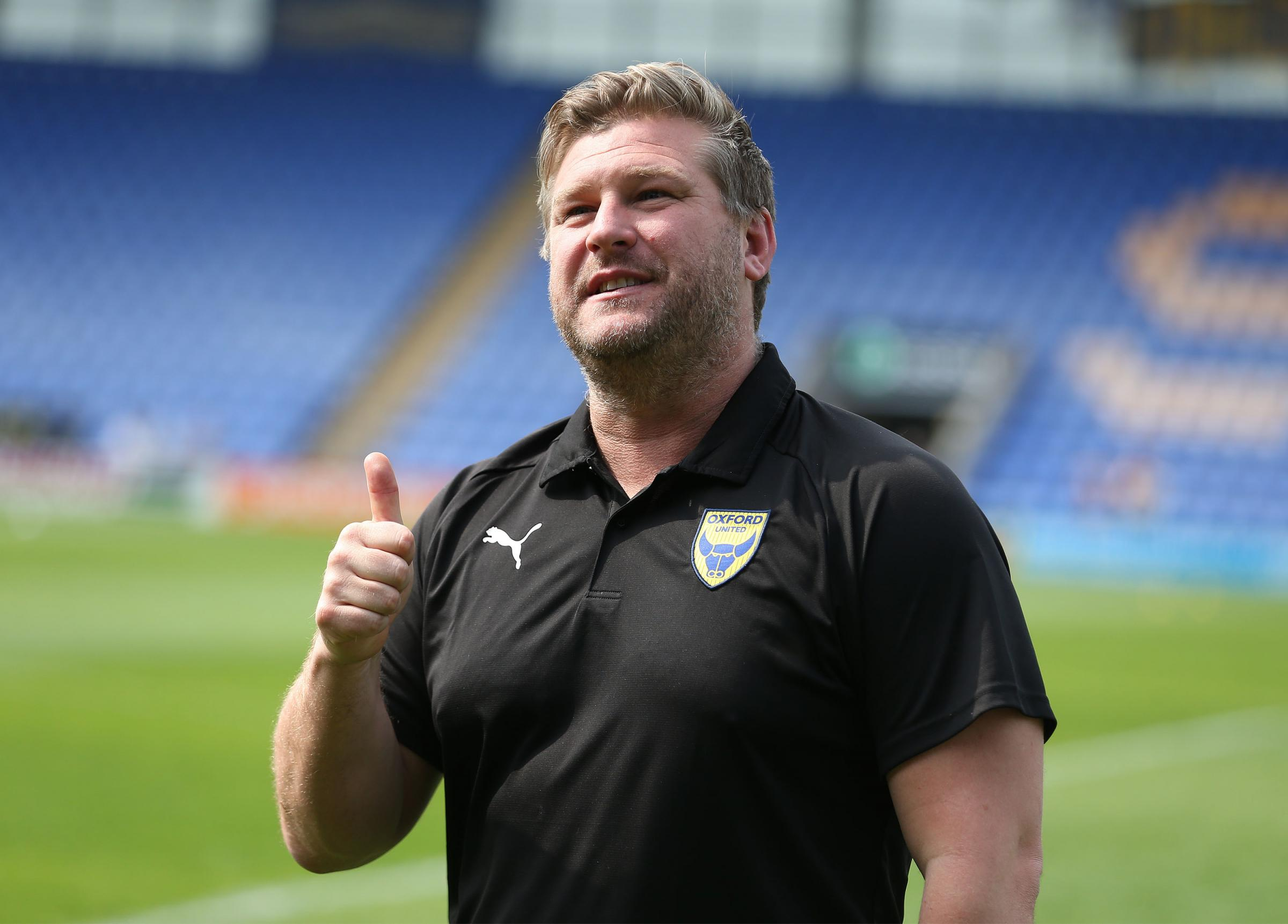 Karl Robinson will meet players individually in the next week   Picture: Richard Parkes