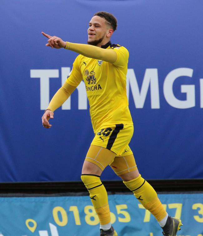Marcus Browne scored nine goals for Oxford United on loan last season    Picture: Steve Daniels
