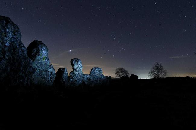 Rollright Stones, near Chipping Norton, by Ritesh Vyas