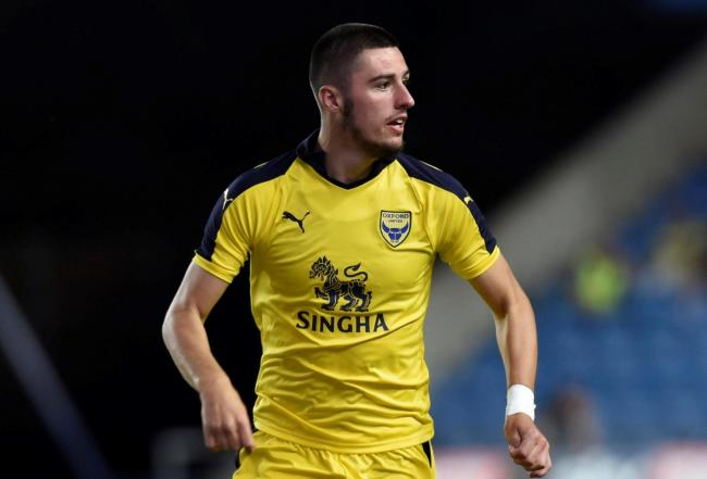 Canice Carroll made 25 appearances for Oxford United before signing for Brentford last summer  Picture: David Fleming