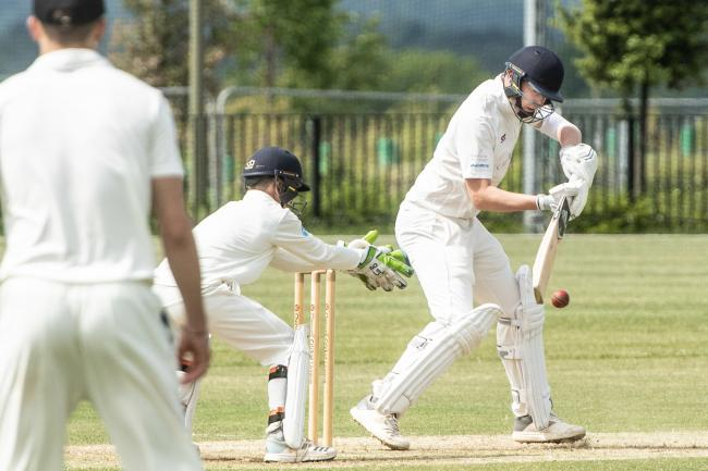 Didcot batsman Will Woodley in their win over Cumnor in Division 1 of the Cherwell League